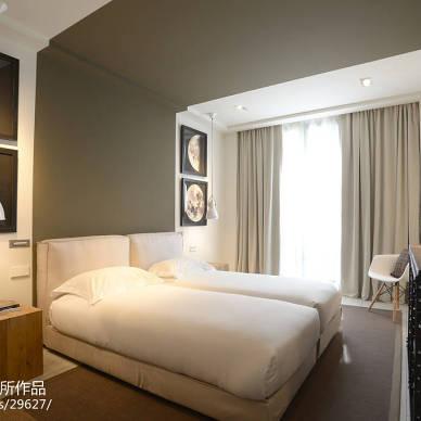 都市现代卧室设计图