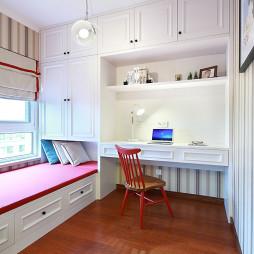 家装现代风格书房效果图装修
