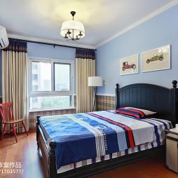 家装现代风格儿童房效果图装修