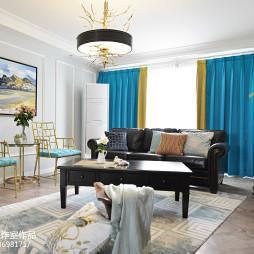 家装美式格调客厅设计