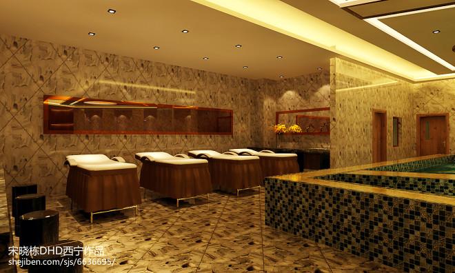 陇西某洗浴会所设计_2306435
