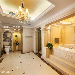 优雅欧式风卫浴设计