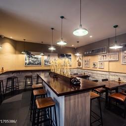 """""""大铜勺""""餐饮空间吧台餐桌设计"""