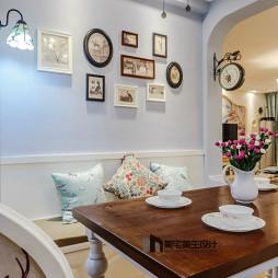 典雅美式风照片墙设计图集
