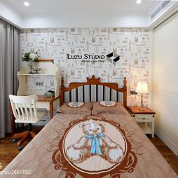 140平米家装新古典儿童房设计图集