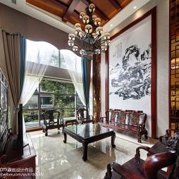 中式风格别墅客厅设计