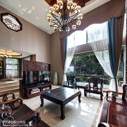 古典中式风格别墅客厅设计