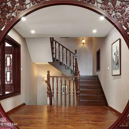 中式风格楼梯装修