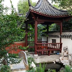 中式风格花园装修