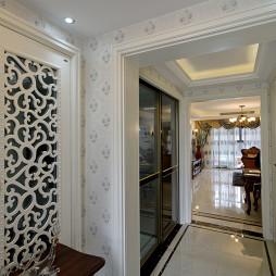 家装欧式风格过道设计