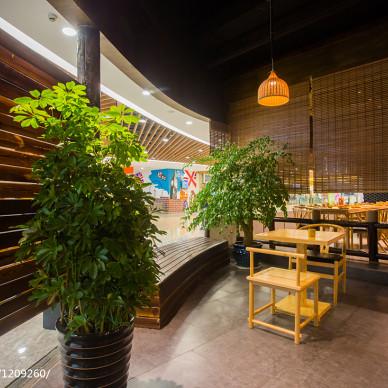 时尚公装餐厅双人桌设计