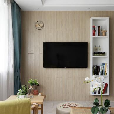 家装时尚日式风背景墙设计