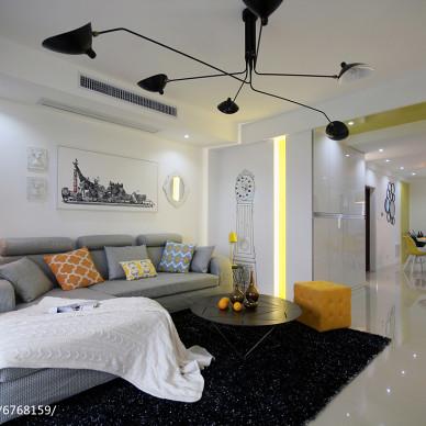 居家现代风格客厅装修