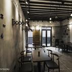 古雅时尚咖啡厅布局设计