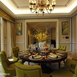 家装欧式格调餐厅设计图