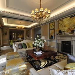 家装欧式格调客厅设计图