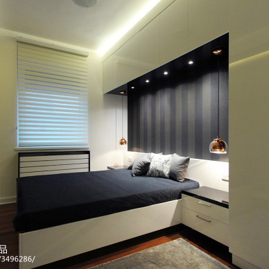 现代家装风格卧室设计