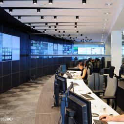 现代年轻化办公空间办公大厅设计