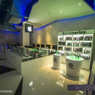 NASA CyberCafe网鱼网咖展示台设计