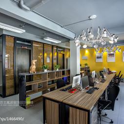 传媒办公室办公区域设计