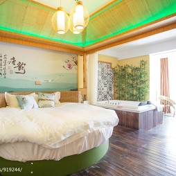 静谧湖夜主题酒店设计