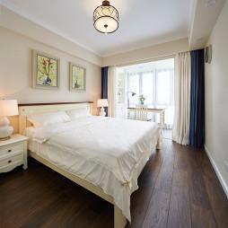 静谧美式卧室设计