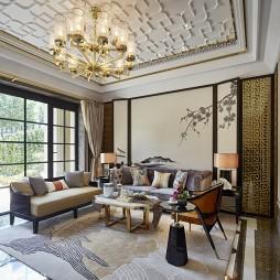东方风情中式客厅设计