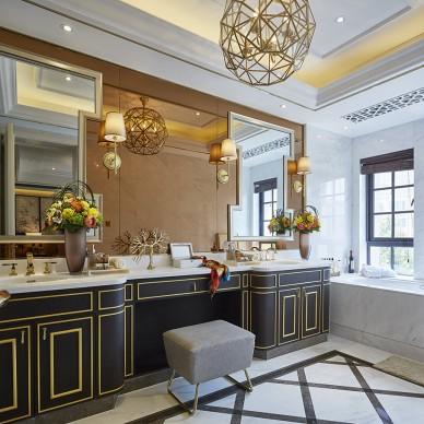 东方风情中式卫浴设计