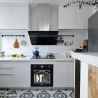 125㎡简约北欧厨房设计