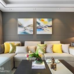 现代时尚家装客厅装修