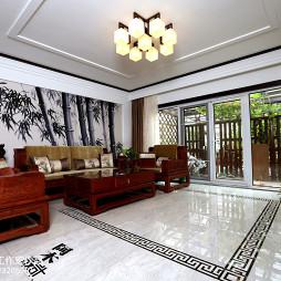 中式家装格调吊顶设计