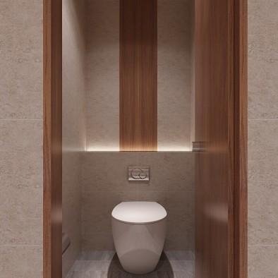 韶关始兴样板房公共卫生间设计