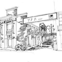 【吕道伟作品】牛津街不在英国——珠海牛津街旧商业街设计_2343028