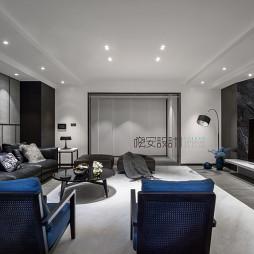 现代家装风格吊顶效果图