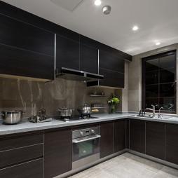 现代家装风格厨房效果图