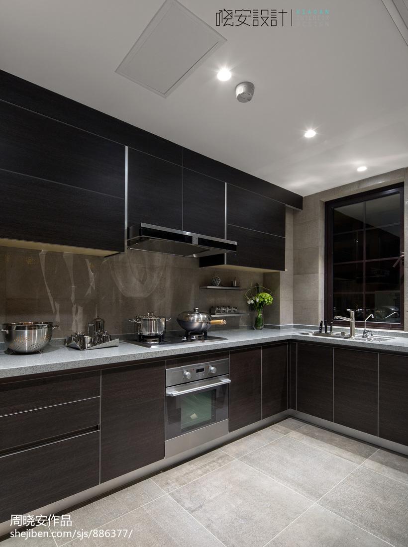 生活资讯_现代家装风格厨房效果图 – 设计本装修效果图