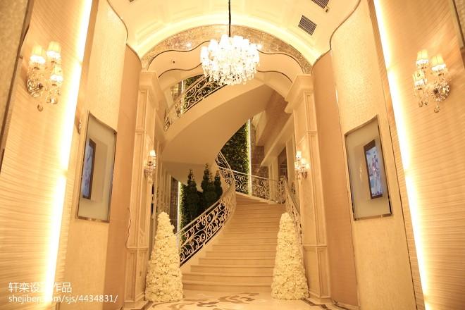 杜兰朵婚纱影楼楼梯装修效果图