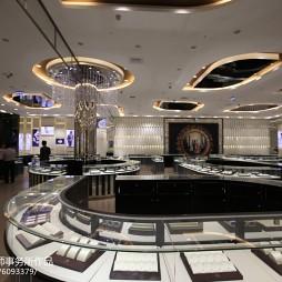 巴厘岛皇冠珠宝店展示柜装修