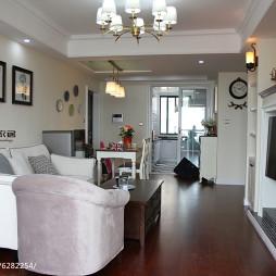 美式客厅装修设计案例