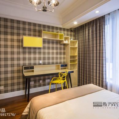 简约欧式卧室设计图