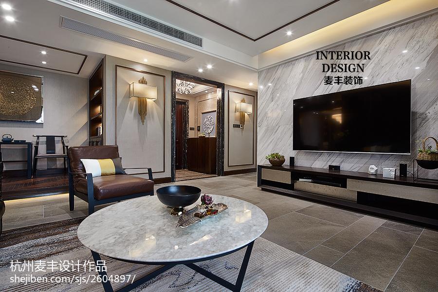 中式客厅装修案例