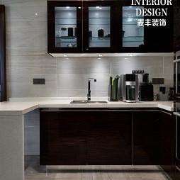 简约中式厨房橱柜设计