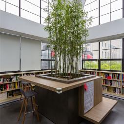 办公室创意书房设计效果图