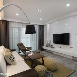 现代风格整体装修客厅装修案例