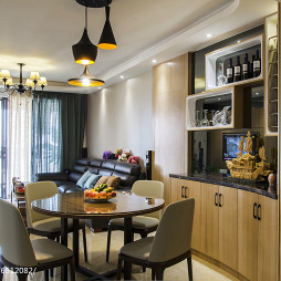 简约四居室餐厅设计