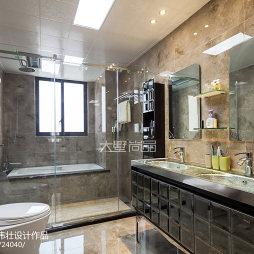 欧式风格家居卫浴装修效果图
