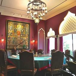 玫瑰山庄私人会所餐厅设计
