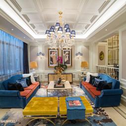 家裝歐式別墅客廳裝飾圖