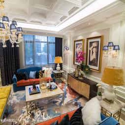 经典欧式风格别墅客厅设计