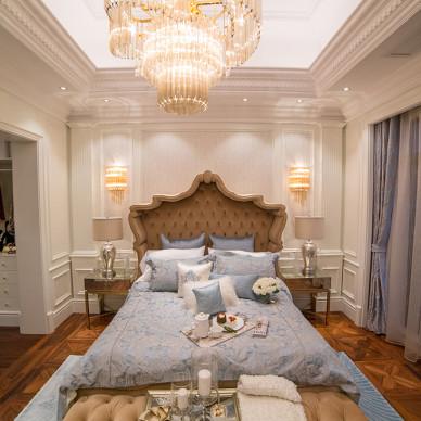 家装欧式别墅卧室效果图